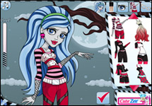 Ghoulia Yelps Hair Style