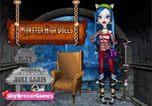 Vestir a las Monster High