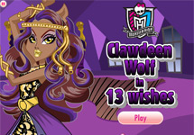 Vestir Clawdeen Wolf  (13 Deseos)