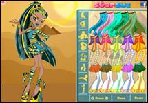 Vestir Nefera de Nile