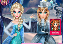 Anna y Elsa son rivales