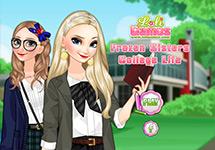 Vestir a Elsa y Anna en la Universidad