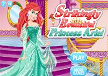 Vestir a Ariel en el palacio