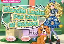 Vestir a Blondie y su mascota