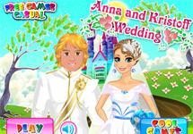 Vestir a Anna el d�a de su boda