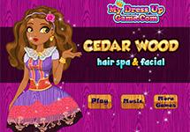 Limpieza facial a Cedar Wood