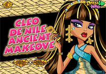 Maquillar a Cleo de Nile