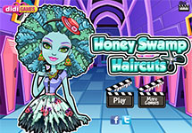 Honey Swamp en la peluquer�a