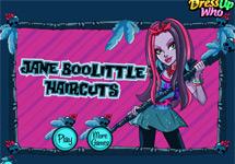 Cortar el pelo a Jane Boolittle