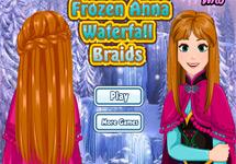 Peinar estilo trenza a Anna (Frozen)