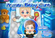 Cuidar y vestir a Elsa y Anna (Frozen)