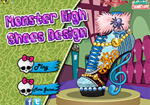 Dise�a tus zapatos Monster High