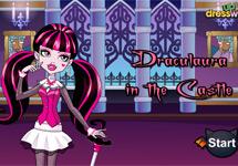 Vestir a Draculaura en su castillo