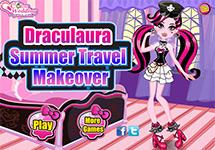 El maquillaje de verano de Draculaura