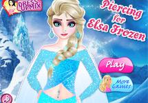 Hacer piercings a Elsa