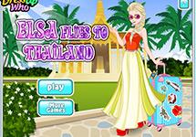 Elsa de vacaciones en Tailandia