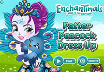 Juego de Enchantimals Patter Peacock