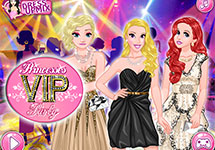Fiesta glamourosa de Princesas