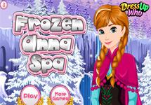 Anna de Frozen en el Spa