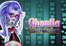 Maquillar a Ghoulia Yelps