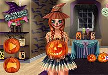 El disfraz de Anna para Halloween o Carnaval