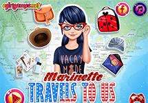 Marinette Viaja A Usa Juego De Vestir