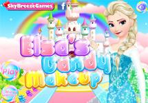 El maquillaje de fiesta de Elsa