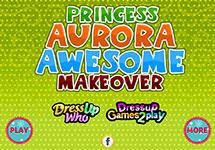 El gran maquillaje de Aurora