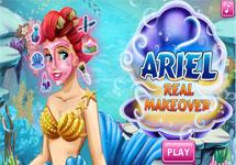 Maquillar y vestir a Ariel