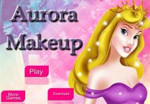 Maquillar a Aurora