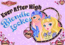 Maquillar y vestir a Blondie Lockes