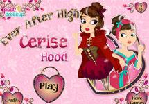 Maquillar y vestir a Cerise Hood