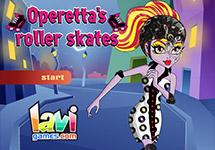 Vestir a Operetta de patinadora