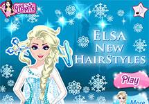 El nuevo peinado de Elsa