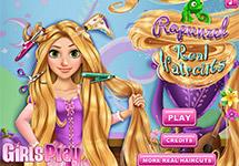 Cortar el pelo a Rapunzel