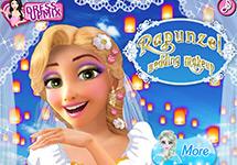 Rapunzel se casa, maqu�llala