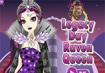 Vestir a Raven Dia del Legado