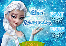 Elsa hechizada, ahora es vieja