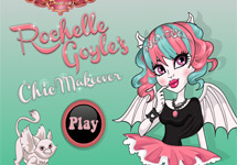 Maquillar a Rochelle Goyle