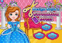 Dise�a el vestido de Coronaci�n de Sof�a