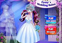 Vestir a Draculaura en su boda