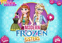 Vestir A Elsa Y Anna Hoy En Dia Juego De Vestir