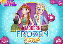Vestir a Elsa y Anna hoy en dia