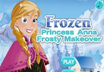 Vestir a Anna (Disney Frozen)