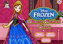 Vestir a Anna en su palacio