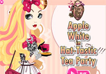 Vestir a Apple en la fiesta del te