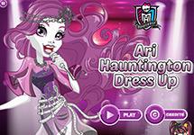 Juego de Monster High Ari Hauntington