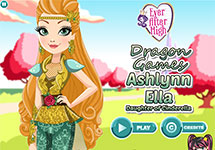 Juego de Ever After High Ashlynn Ella