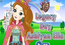 Vestir a Ashlynn (Dia del Legado)