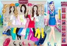 Vestir a Barbie Azafata de Vuelo